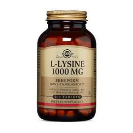 L-Lysine 1000 mg (100 tabs)