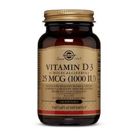 Vitamin D3 1000 IU (100 softgels)