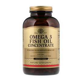 Omega 3 Fish Oil Concentrate (240 softgels)