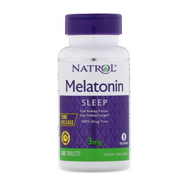 Melatonin 3 mg Time Release (100 tabs)