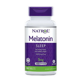 Melatonin 5 mg Time Release (100 tabs)