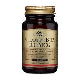 Vitamin B-12 100 mcg (100 tabs)