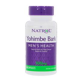 Yohimbe Bark 500 mg (90 caps)