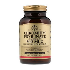 Chromium Picolinate 500 mcg (120 veg caps)