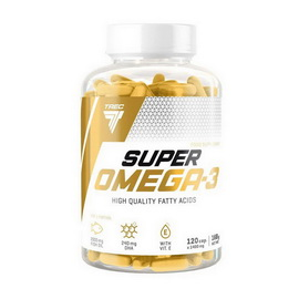 Super Omega-3 with Vitamin E (120 caps)