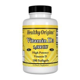 Vitamin D3 1000 IU (180 softgels)