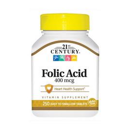 Folic Acid 400 mcg (250 tabs)