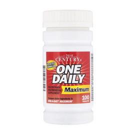 One Daily Maximum (100 tabs)