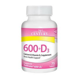 600 + D3 (75 tabs)