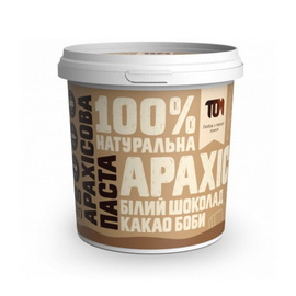 Арахисовое масло с какао бобами и белым шоколадом (500 g)