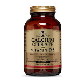 Calcium Citrate with Vitamin D3 (120 tabs)