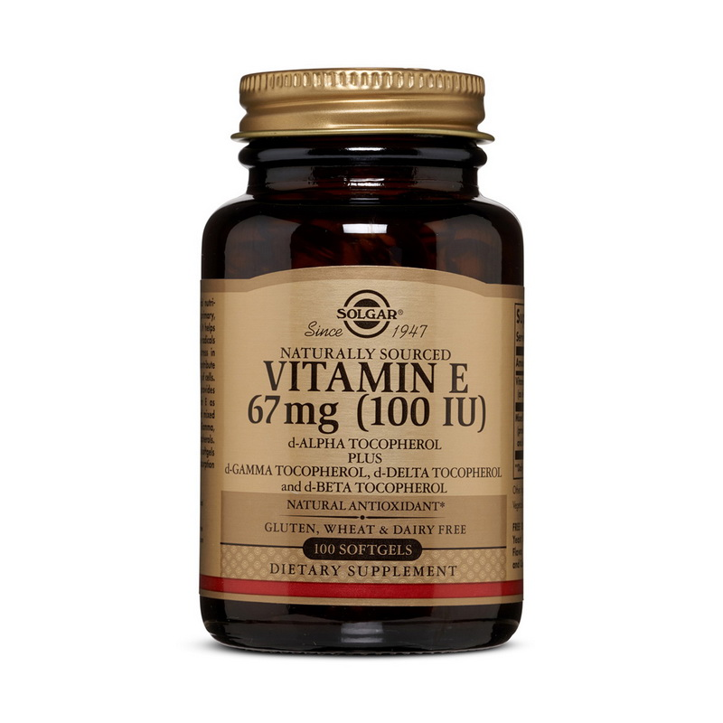 Vitamin E 100 IU (100 softgels)