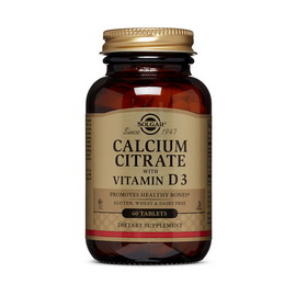 Calcium Citrate with Vitamin D3 (60 tabs)