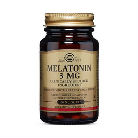 Melatonin 3 mg (60 nuggets)