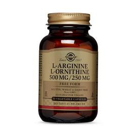L-Arginine L-Ornithine 500/250 (50 veg caps)