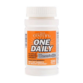 One Daily for Women`s 50+ (100 tabs)