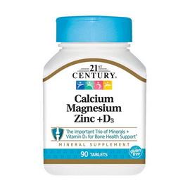 Calcium Magnesium Zinc + D3 (90 tabs)