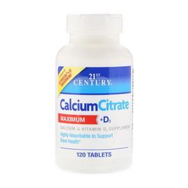 Calcium Citrate Maximum + D3 (120 tabs)