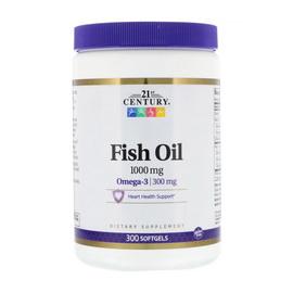 Fish Oil 1000 mg (300 softgels)