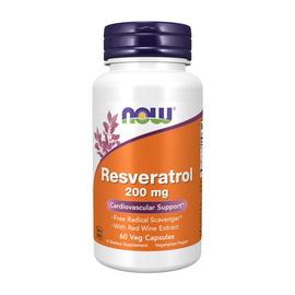 Natural Resveratrol 200 mg (60 veg caps)