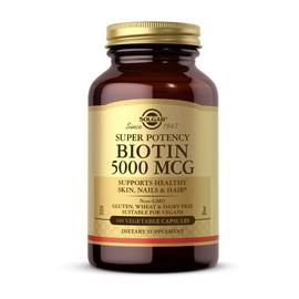 Biotin 5000 mcg (100 veg caps)