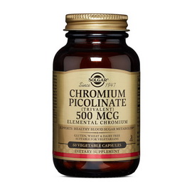 Chromium Picolinate 500 mcg (60 veg caps)