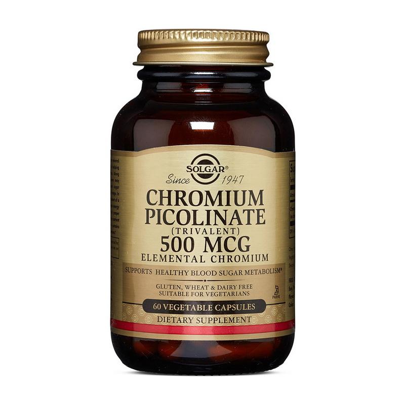 Chromium Picolinate 500 mcg (60 veg caps)