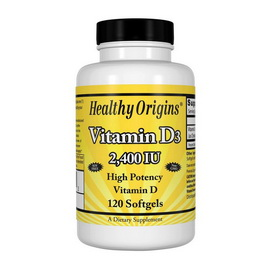 Vitamin D3 2400 IU (120 softgels)