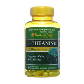 L-Theanine 200 mg (60 caps)
