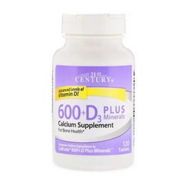 600 + D3 Plus Minerals (120 tabs)