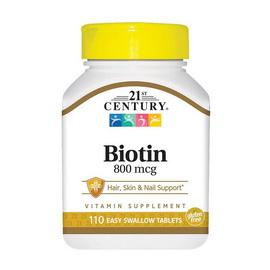 Biotin 800 mcg (110 tabs)