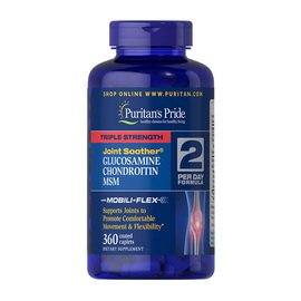 Triple Strength Glucosamine & Chondroitin with MSM (360 caplets)