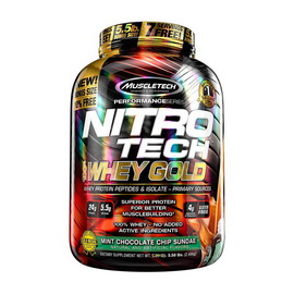 Nitro Tech 100% Whey Gold (2,51 kg)