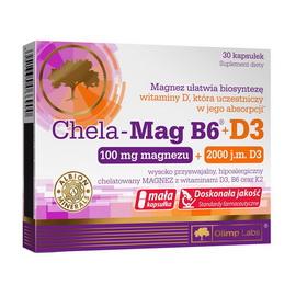 Chela-Mag B6 + D3 (30 caps)