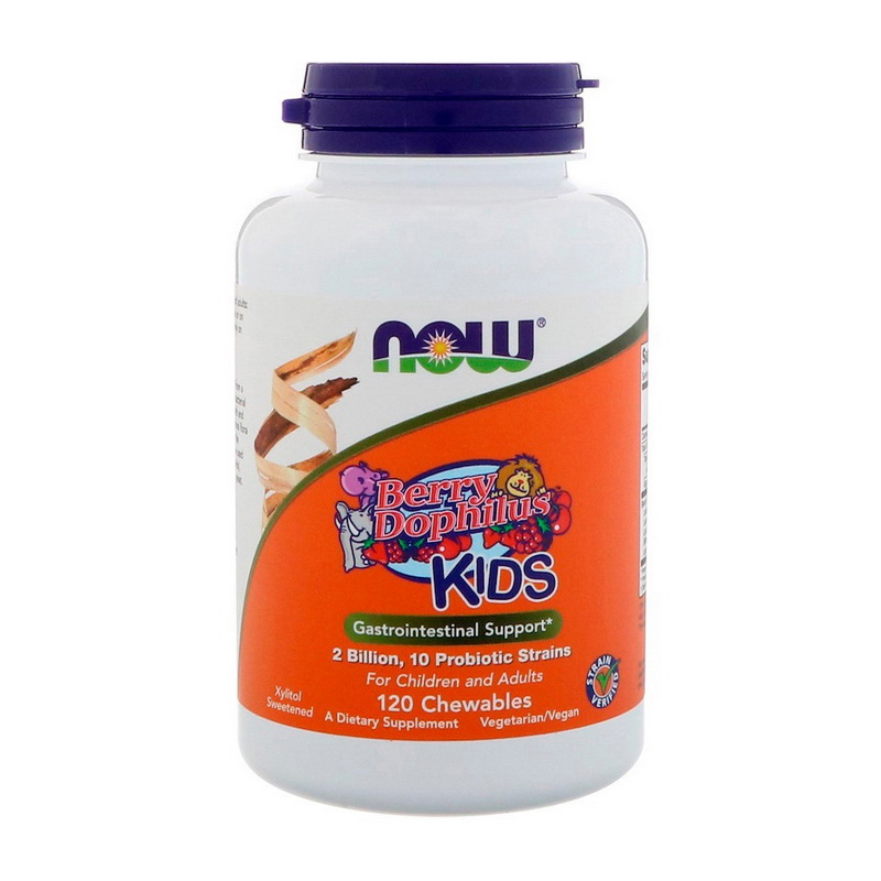 Kids Berry Dophilus (120 chew tabs)