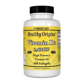 Vitamin D3 2400 IU (360 softgels)