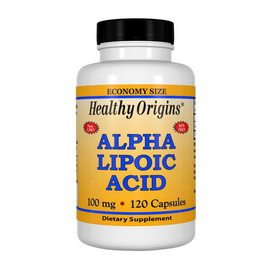 Alpha Lipoic Acid 100 mg (120 caps)