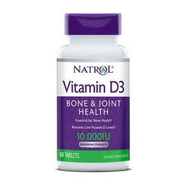 Vitamin D3 10000 IU (60 tabs)