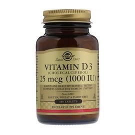 Vitamin D3 1000 IU (180 tabs)