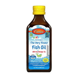 Kid's The Very Finest Fish Oil 800 mg Omega-3s (200 ml)
