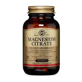 Magnesium Citrate (60 tabs)