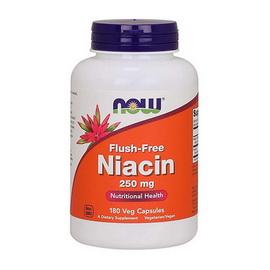 Flush-Free Niacin 250 mg (180 veg caps)