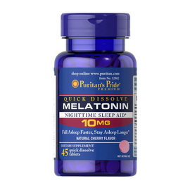 Quick Dissolve Melatonin 10 mg (45 tabs)