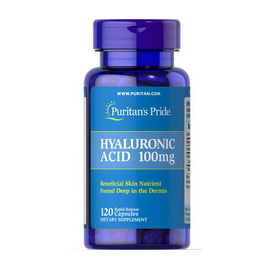 Hyaluronic Acid 100 mg (120 caps)