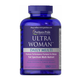Ultra Woman Daily Multi (180 caplets)