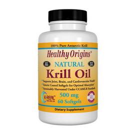 Krill Oil 500 mg (60 softgels)