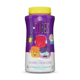 U-Cubes Children's Multi-Vitamin & Mineral (60 gummies)