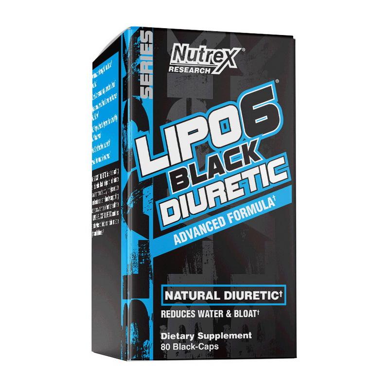 Lipo 6 Black Diuretic (80 black caps)