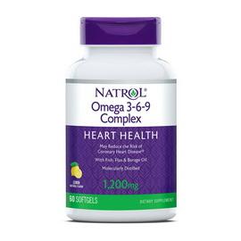 Omega 3-6-9 Complex 1200 mg (60 softgels)