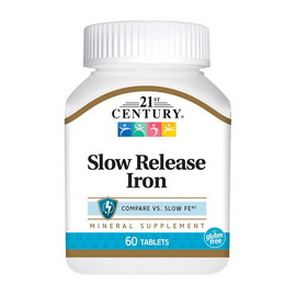 Slow Release Iron (60 tabs)